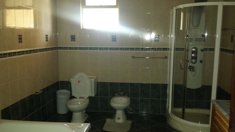 Bathroom view of a property