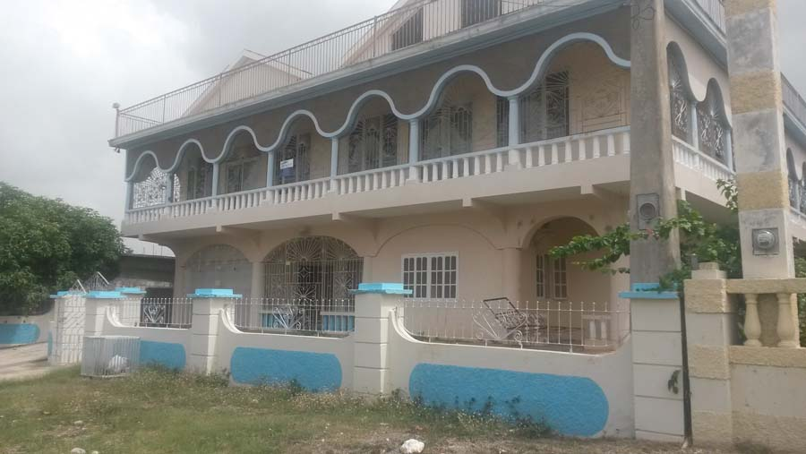 Front view of a property